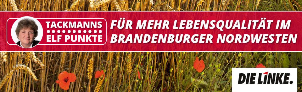 Elf Punkte für mehr Lebensqualität im Brandenburger Nordwesten